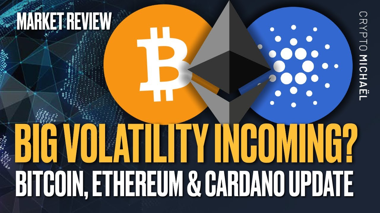 CALM BEFORE THE STORM? ⛈️ ETHEREUM, BITCOIN & CARDANO UPDATE!