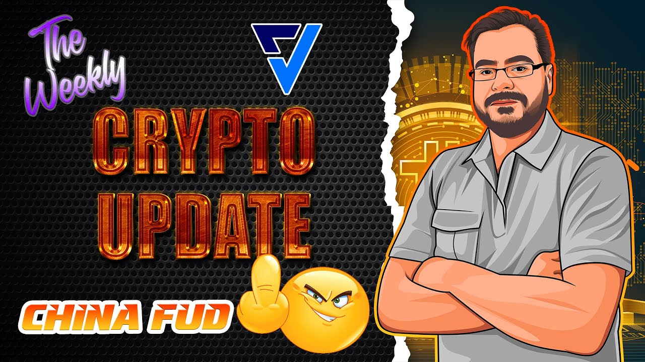 Weekly Update! China Leaving Is GREAT! Veritise Token Sale Plus The Crypto Giveaway!