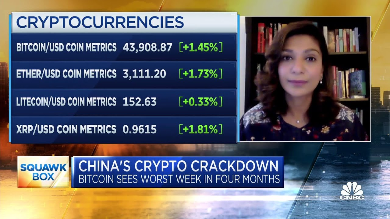 Crypto relies on global markets: Expert on China's crackdown