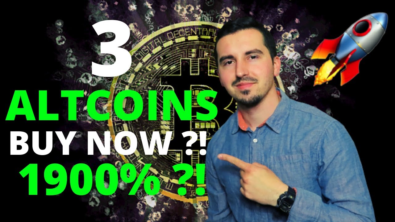 Top 3 Altcoins Ready To EXPLODE in September 2021🚀 Crypto NOW! 1900% MASSIVE UPSIDE (DONT MISS OUT)😱