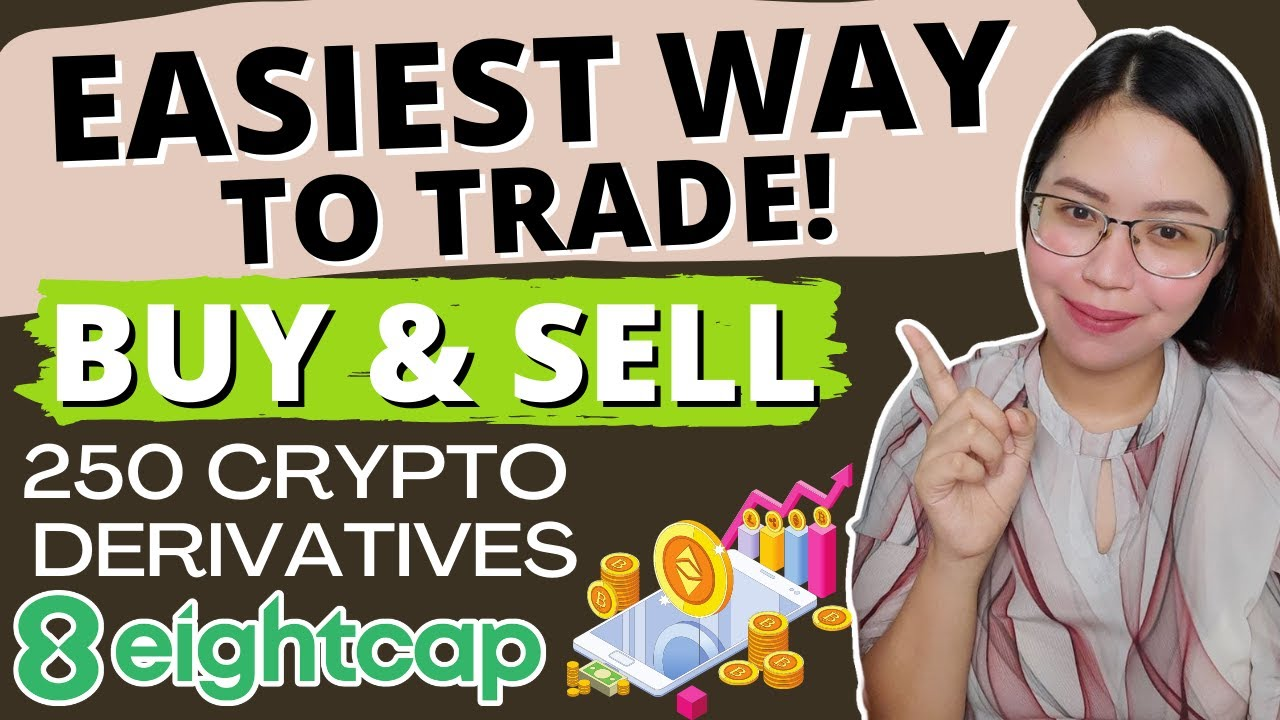 EASIEST WAY TO TRADE! BUY AND SELL 250 CRYPTO DERIVATIVES on EIGHTCAP BROKER!