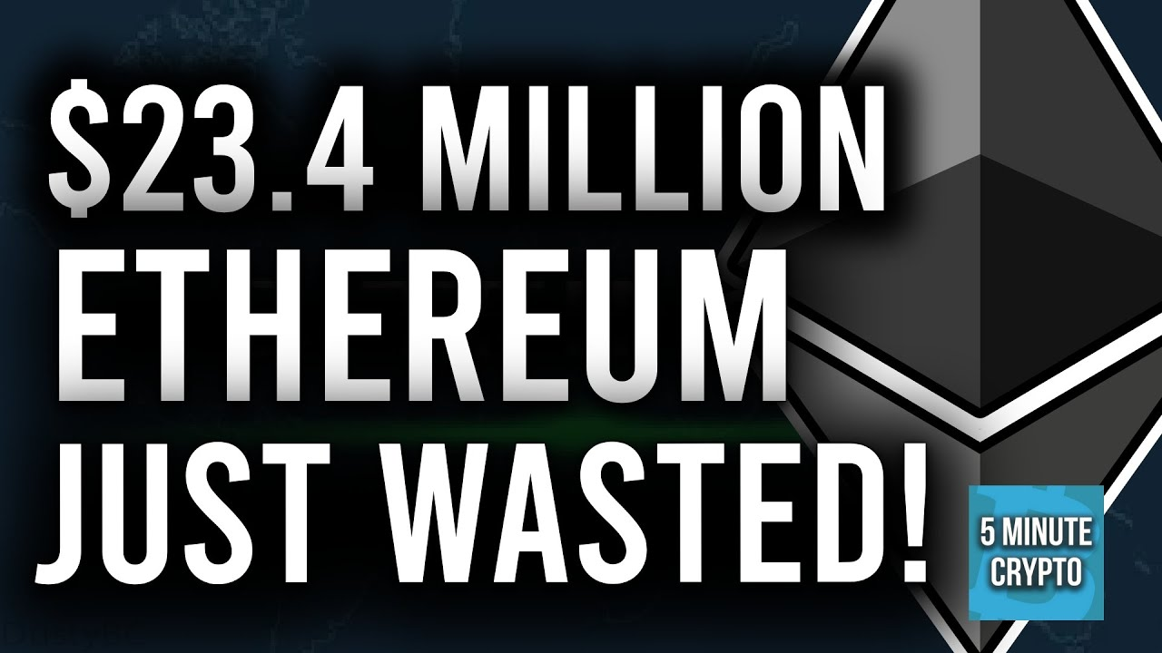 CRYPTO NEWS: BITFINEX JUST WASTED $24 MILLION IN GAS FEES BY ACCIDENT! (BIGGEST CRYPTO FAIL EVER!)